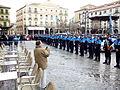 Policía local, Plaza Mayor, Segovia, España, 2015.jpg