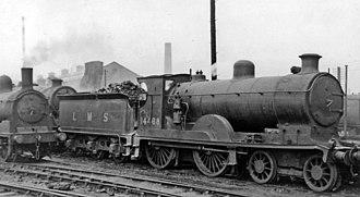 Caledonian Railway 72 Class - Caledonian '113' class 4-4-0 no. 14468 at Polmadie Locomotive Depot, 1948