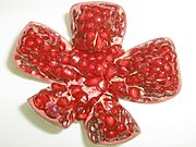 Pomegranate - opened up