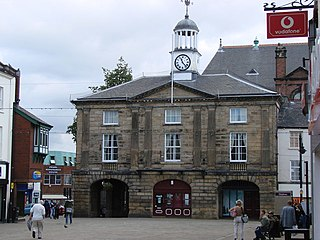 Pontefract market town in West Yorkshire, England