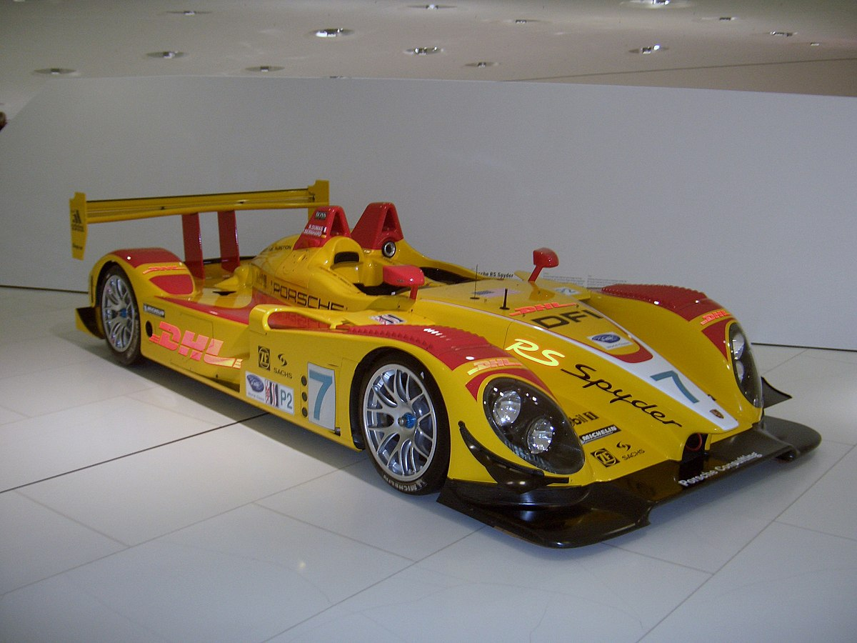Porsche Spyder Race Car