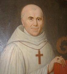 Dom Bernard de Girmont, primo abate di Port du Salut, nel 1815