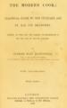 "Portada de la segunda edición de ""The Modern Cook"" (Francatelli, 1846).png"