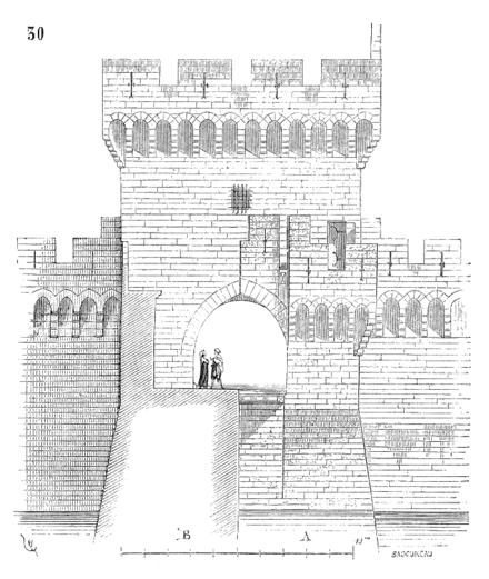 Page viollet le duc dictionnaire raisonn de l architecture fran aise du xie au xvie si cle - Porte saint dominique avignon ...