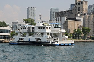 Billy Bishop Toronto City Airport - Marilyn Bell I ferry