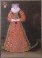 Porträtt. Grevinnan Amalia von Hatzfeldt , död 1628 , g.m. M. Lewenhaupt - Skoklosters slott - 73607.tif