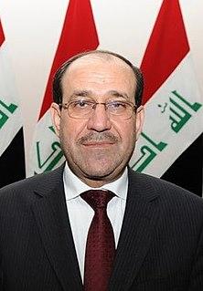 Nouri al-Maliki Prime Minister of Iraq