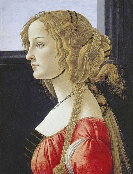 Simonetta Vespucci - sent 1400-tal