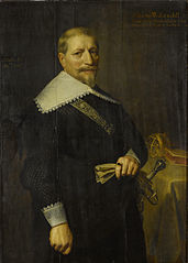 Portrait of Adam van Westerwolt (1580-1639)