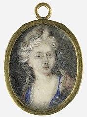 Portret van een vrouw, vermoedelijk Christiane Charlotte van Württemberg (1694-1729)