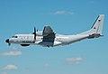 Portuguese Air Force C-295 arrives RIAT Fairford 10thJuly2014 arp.jpg