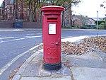 Post box on Taunton Road, Wallasey.jpg