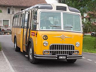 Franz Brozincevic Wetzikon - Postauto FBW C40U