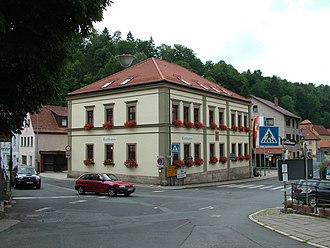 Pottenstein, Bavaria - Image: Pottenstein Bayern Rathaus
