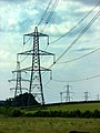 Power Lines North of Broadclyst, Devon - geograph.org.uk - 1029989.jpg
