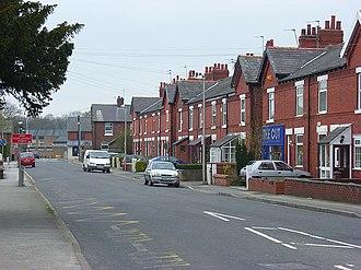 Poynton - Terraced housing in Poynton