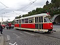 Průvod tramvají 2015, 16c - tramvaj 5001 a 6006.jpg