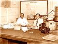 Prafullachandra Ghosh & Msd Ali at Writers' Building in 1947.jpg
