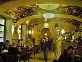 Praha, Divadlo Na zábradlí, kavárna.JPG