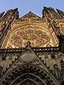 Praha, Katedrála, západní průčelí 01.jpg