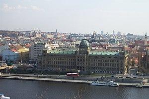Ministry of Industry and Trade (Czech Republic) - Image: Praha, Letná, budova ministerstva průmyslu a obchodu
