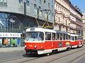 Praha, Nové Město, Havlíčkova, Tatra T3 (02).jpg