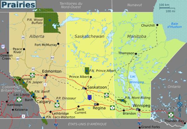 Prairies Canadiennes Wikivoyage Le Guide De Voyage Et
