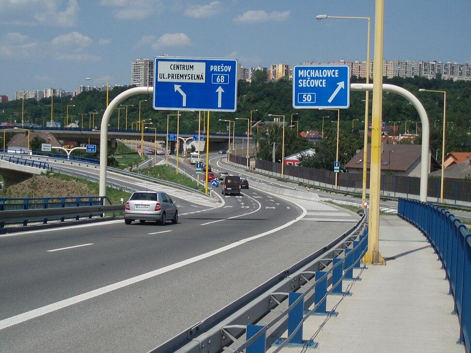 PrešovskáSečovská