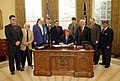 President George W. Bush signs the Veterans Benefits Act of 2003.jpg