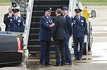 President Obama arrives at Kentucky Air Guard Base 150402-Z-VT419-222.jpg