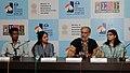 Press conference by Directors, Ashim Paul, Anjali Menon, Nandan Saxena & Kavita Bhal, at the 43rd International Film Festival of India (IFFI-2012), in Panaji, Goa on November 24, 2012.jpg
