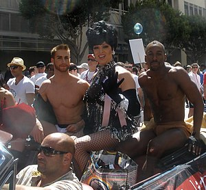 Zumanity - Zumanity float at the 2012 San Francisco Pride parade.