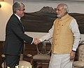 Prime Minister Modi meets Jacques Audibert, Diplomatic Advisor to the French President.jpg