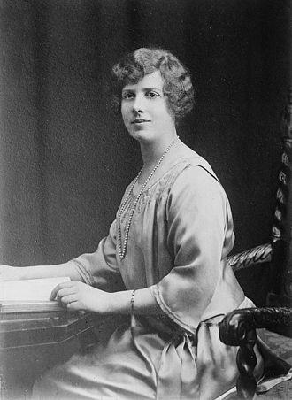 Princess Maud, Countess of Southesk - Image: Princess Maud of Fife as an adult