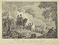 Prins van Oranje tijdens de slag bij Quatre-Bras, 1815 Z.K.H. Willem Frederik George Lodewijk, Prins van Oranje-Nassau, Kroonprins der Nederlanden, in den aanval der Franschen, den 16den Junij 1815, by Quatre-Bras omsin, RP-P-OB-87.197.jpg