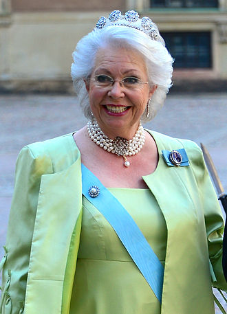 Princess Christina, Mrs. Magnuson - Magnuson prior to the wedding of her niece Madeleine in June 2013