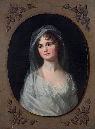 Frederick Ferdinand, Duke of Anhalt-Köthen - His first wife, Luise of Schleswig-Holstein-Sonderburg-Beck
