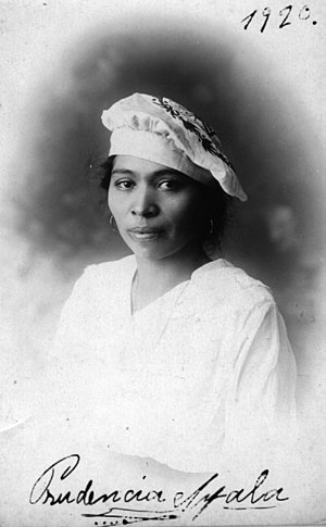 Prudencia Ayala - Photo of 1920