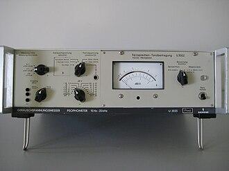 Psophometer - Psophometer