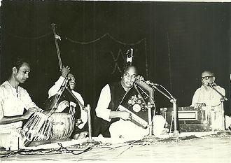 Mani Prasad - Mani Prasad performing