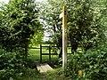 Public footpath to Dedham village from East Lane - geograph.org.uk - 810978.jpg