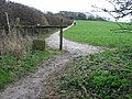 Public footpath to Wood Hill - geograph.org.uk - 348592.jpg