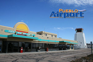 Pueblo Memorial Airport - Pueblo Memorial Airport terminal