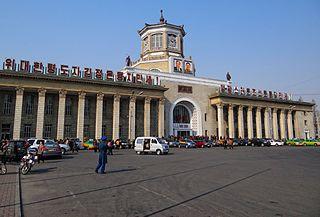 Pyongyang station