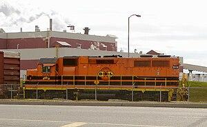 Quebec Gatineau Railway - Image: QGRY
