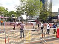 Queen's Baton Relay - Centenary Square - Badminton (14352538173).jpg