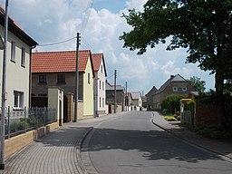Hauptstraße in Markranstädt