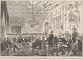 Réunion, dans l'hôtel du duc d'Albe, des grands d'Espagne opposés à la liberation inmédiate des esclaves des colonies, de Vierge.jpg