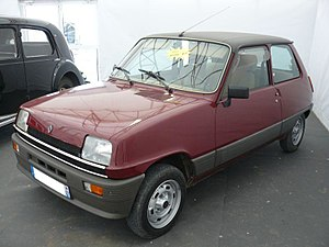 Renault 5 - First generation, front
