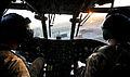 RAF Chinook Landing at Lashkar Gah, Afghanistan MOD 45155360.jpg